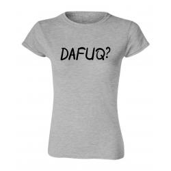 Dafuq Womens Ryware T-Shirt