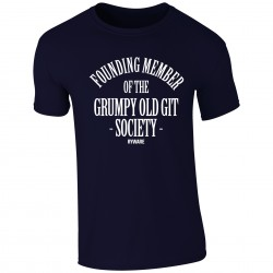 Grumpy Old Git Society Mens T-Shirt